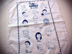 FOWD tea towel