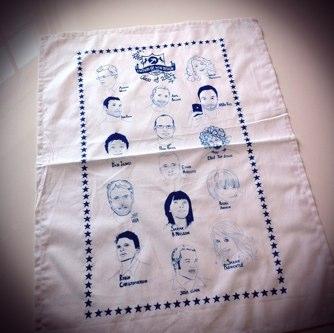 FOWD tea towel