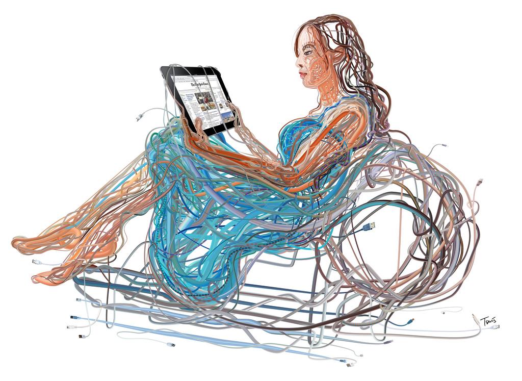 iPad wires