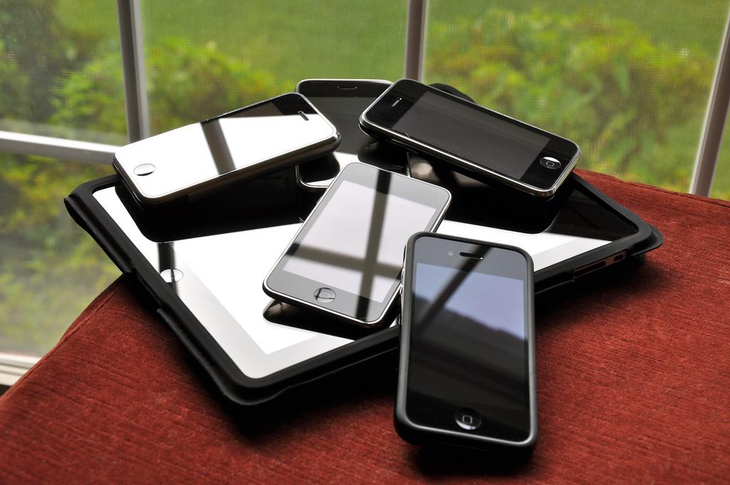 ipad and iphones