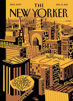 New Yorker Cover: Mental Landscape