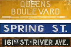 Subway type in tile