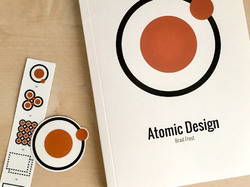 Atomic Design book and stickers