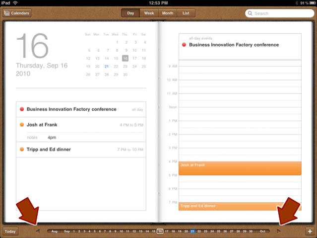 Ipad Calendars Ipad Calendar App
