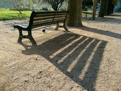 Jardin des Plantes - Centaur Bench