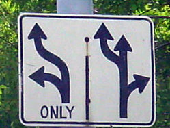 Street sign complexity