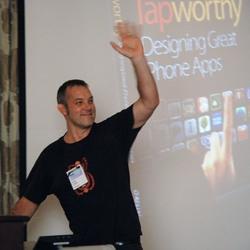 Josh Clark at Design for Mobile (D4M)