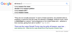 "Result for ""did trump commit treason"""