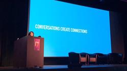 Conversations create connections.—Elena Ontiveros