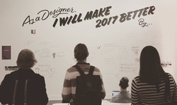 As a designer, I will make 2017 better