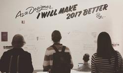 As a designer, I will make 2017 better