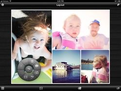 Layout app for iPad. Screenshot by Judith Leist.