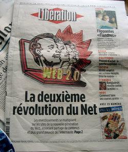 Libération - Web 2.0 cover