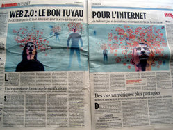 Libération - Web 2.0 spread