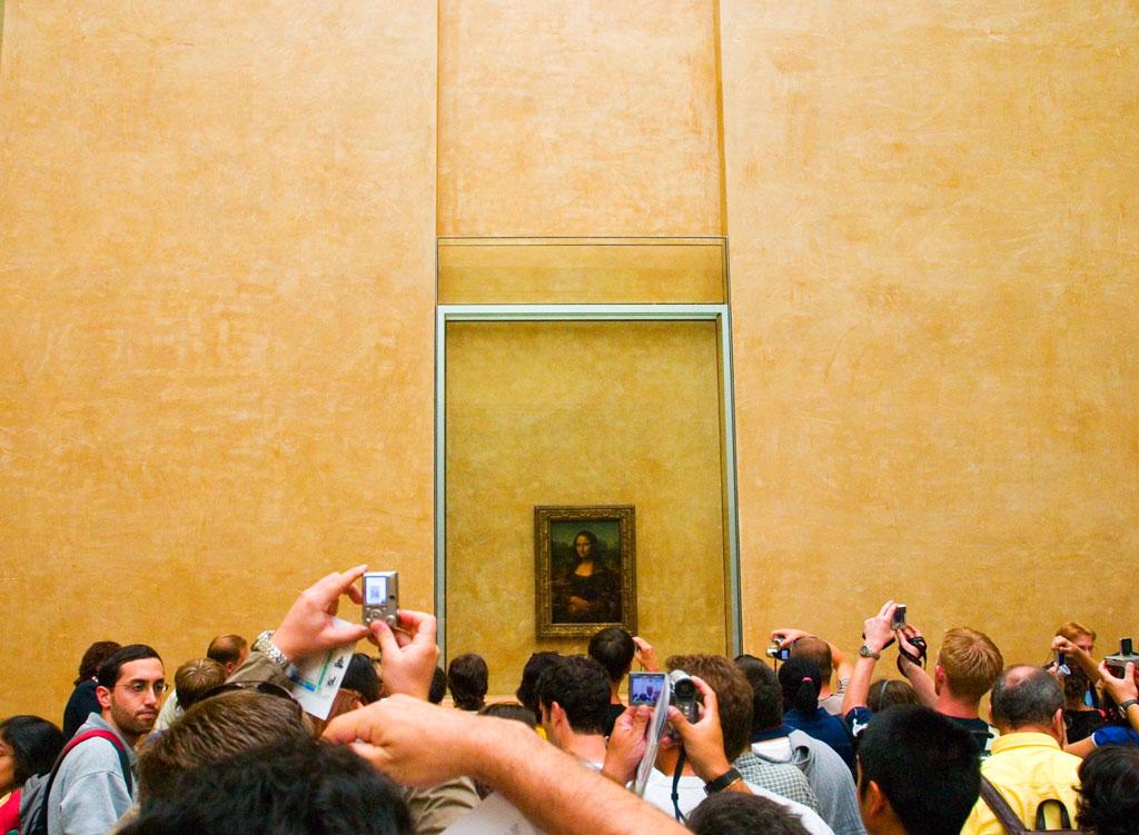 Louvre - Mona Lisa Photos