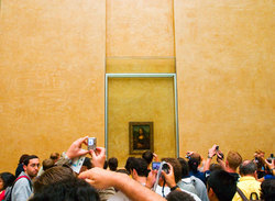 Louvre - Mona Lisa Photos