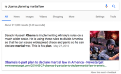 Is Obama planning martial law?