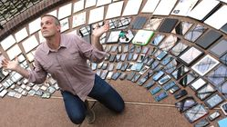 Josh Clark and his many, many devices