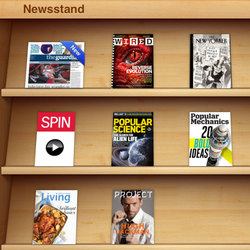 Newsstand screenshot
