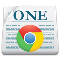 Page One extension for Chrome