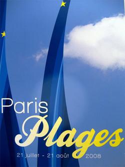 Paris Plages poster