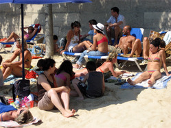 Paris Plages - Sand beach