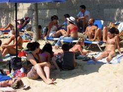 Paris Plages - Sand beach