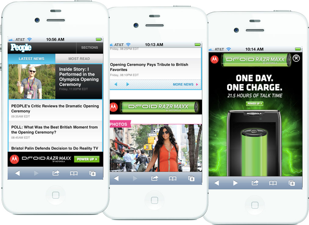 Clark's responsive advertising solution