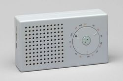 Pocket Radio (model T3) by Dieter Rams and Ulm Hochschule für Gestaltung (1958)