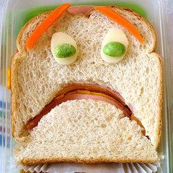 Scared Sandwich