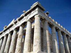 Acropolis - Southwest Parthenon