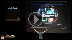 Buttons are a Hack: Webstock screenshot