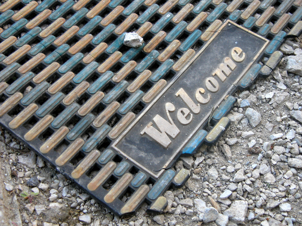 Welcome Mat - Photo by jason-morrison@flickr